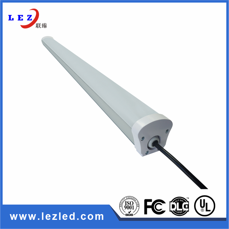 suspended linear waterproof 1200mm led triproof , motion sensor tri-proof  lighting