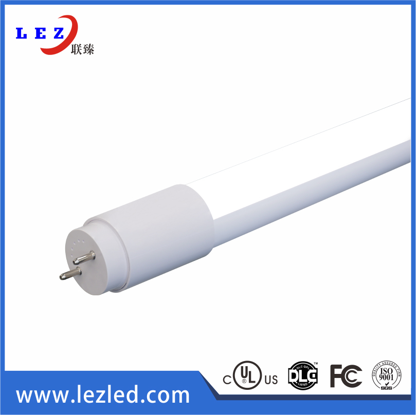 UL 1200mm 18W 130lm/w T8 led full PC tube light