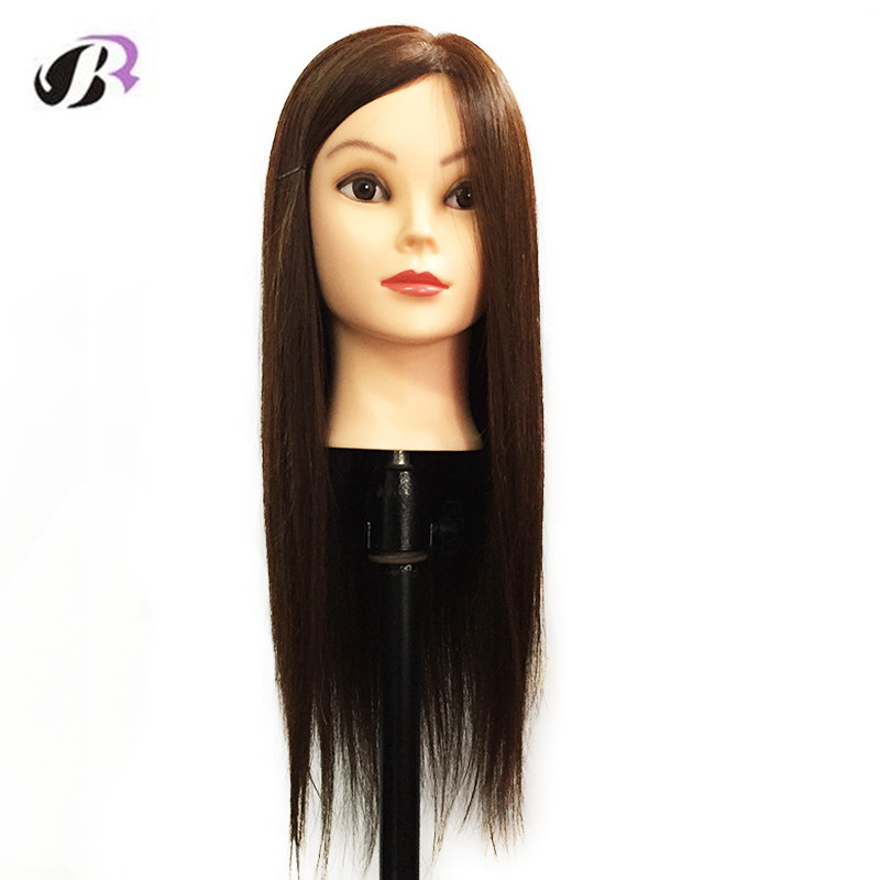 Hot Sale Mannequin Head For Hairdresser Wig Manik Hairdressing Dummy Doll Heads Human Hair Styling Mannequins Training Head