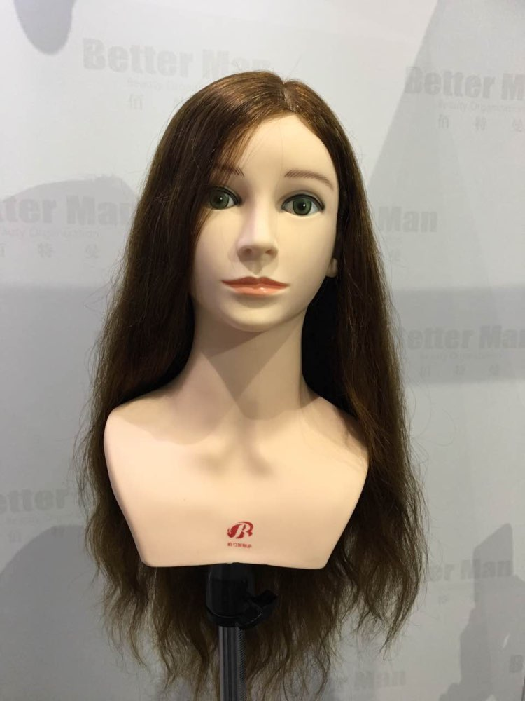 Mannequin Training Head With Natural Human Hair Manikin Training Head Hairdressers Practice Mannequin Head Dummy With Shoulder
