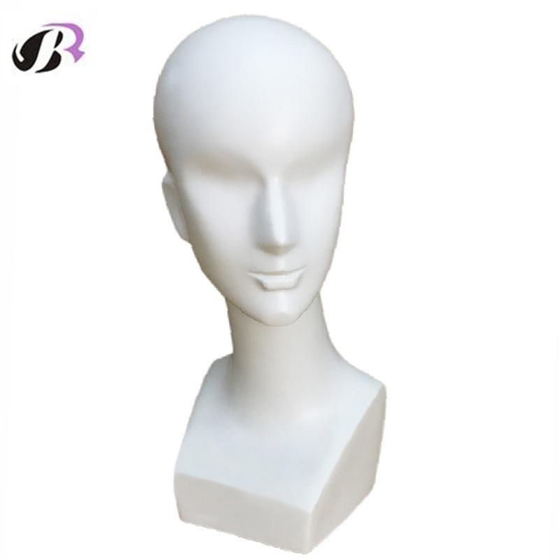 Mannequin Dummy Abstract Male Training Display Head Mannequin Manikin Head Fiberglass Maniqui Model For Wig Hair Hat Jewellery