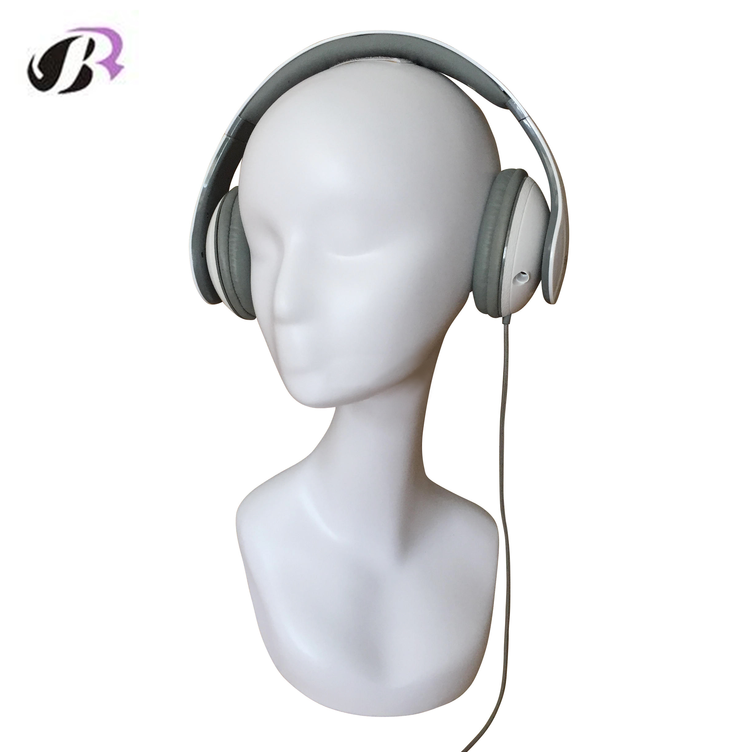 Mannequin Head for Wigs Hat Headset Jewel Stand Holder High Quality Fiberglass Realistic female Manikin Dummy Head