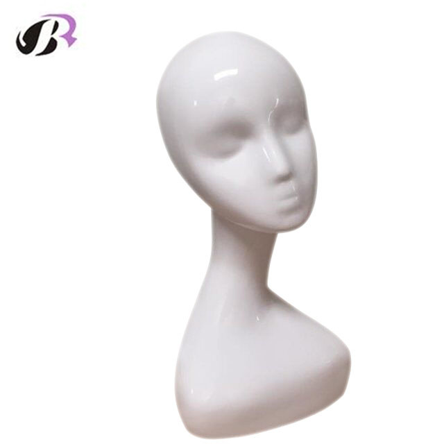Mannequin Display Head Female Mannequin Head For Wigs And Hat Display Fashion Realistic Female Plastic Head Sale