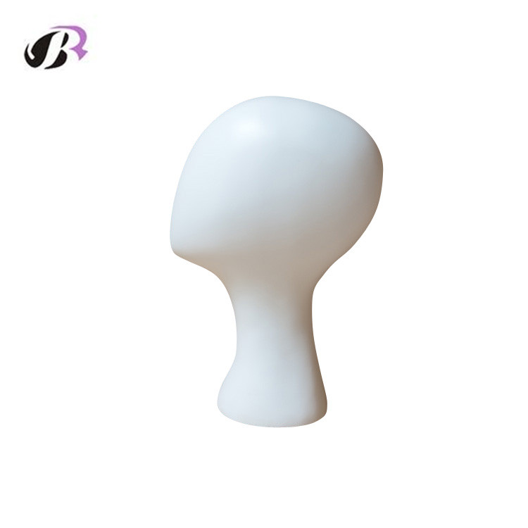 Fashion Female Mannequin Display Head for Wigs /Hat /Jewelry Model Quality White Fiberglas Mannequin Without Hair
