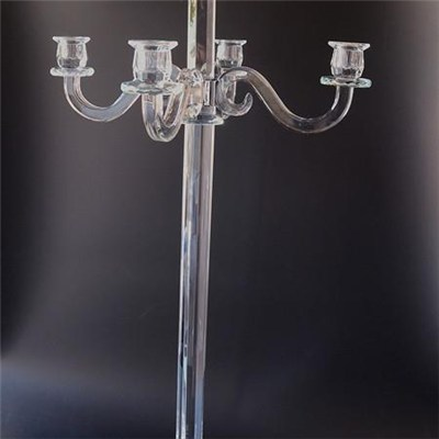 Crystal Candelabra & Centerpiece For Wedding Event