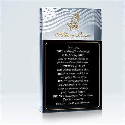 Military Prayer Plaques