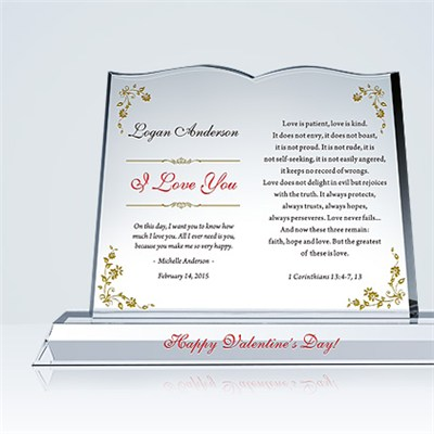 I Love You' Gift Plaques