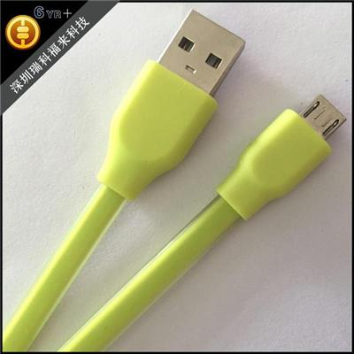 V8 Nylon Braided USB Cable Micro USB Charging Cable