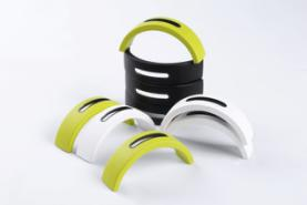Liquid injecting metal coating Silicone wristband for iwatch application