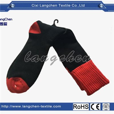 Thermal Socks red color