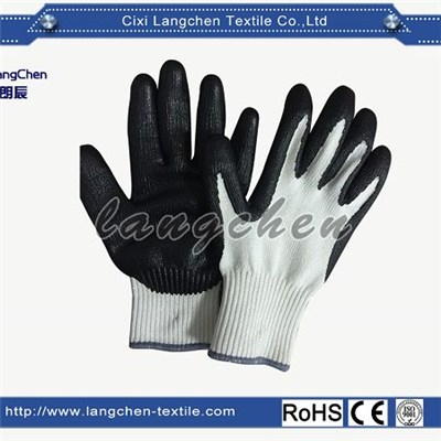 10G HPPE Latex Coated Cut Resistant Glove