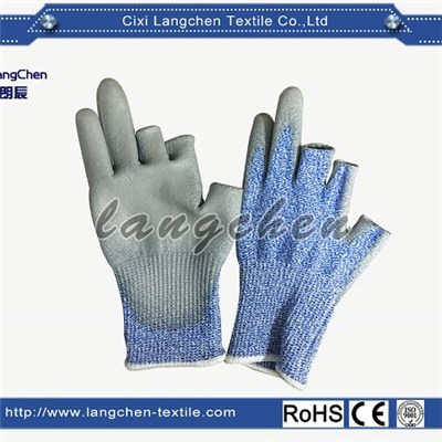 13G Dyneema PU Coated Cut Resistant Glove