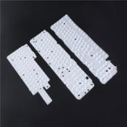 Injecting silicone rubber keyboard  for computer application