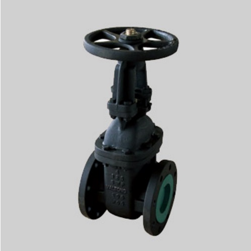 MSS SP 70 125S cast iron gate valve OS&Y solid wedge disc flanged ends