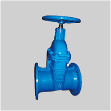 EN 1171 PN10/PN16 F14/15 ductile iron valve resilient seat gate valve NRS flanged ends