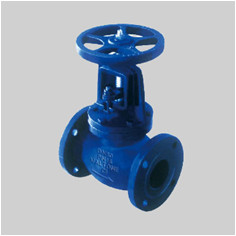 EN 13789 PN16 F10 cast iron globe valve flanged ends