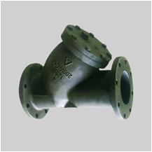 cast iron 125S flanged ends Y strainers