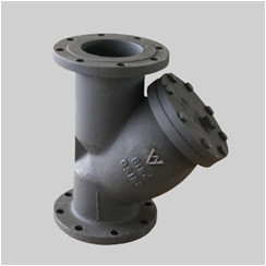 cast iron PN16 flanged ends BS Y strainers