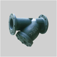 cast iron PN16 F1 DIN Y strainers flanged ends