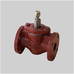 API 599 cast iron 125S plug valve flanged ends