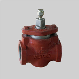 API 599 cast iron 125S plug valve NPT thread ends