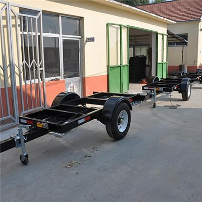 Small Generator Plant Trailer Frame Or Chassis