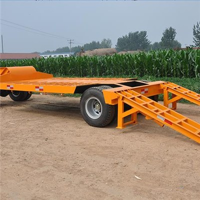 20 Ft 40 Ft 12tons 24 Tons Tractor Excavator Container Trailer
