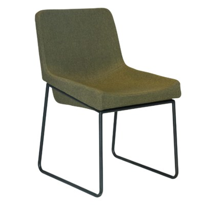 Fabric Seat Metal Leisure Chair