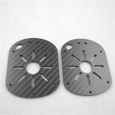 High precision cnc machining carbon fiber plate