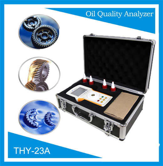On-site used lubricant oil analyzer
