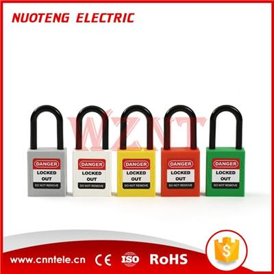 38mm Plastic Shackle Safety Padlock