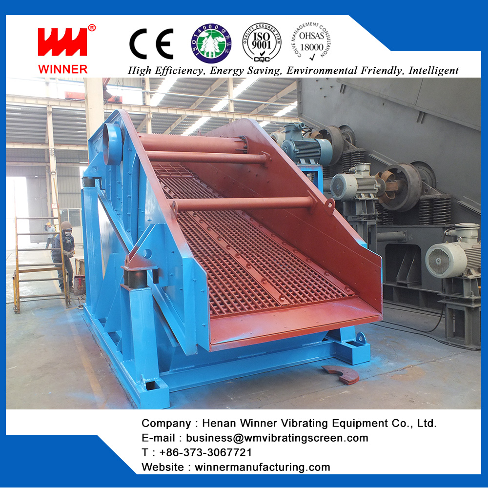WYK series circular vibrating screen for quarry