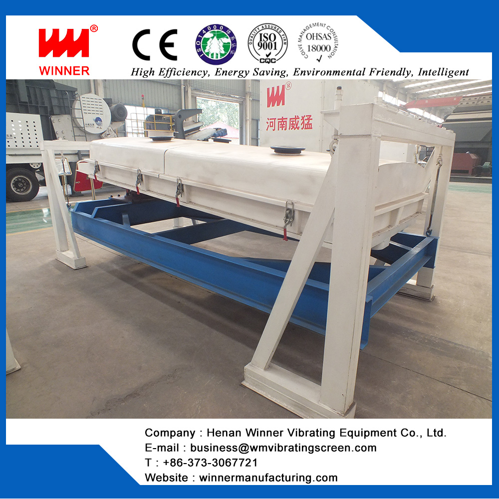 Mining plane rotary vibrating sieve for food