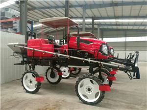 3WPZ Series Agricultural self-propelled amphibian boom sprayer