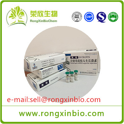 Good quality Injectable Human Growth Hormone HGH Jintropin For Anti Aging/Muscle Growth 100iu/kit