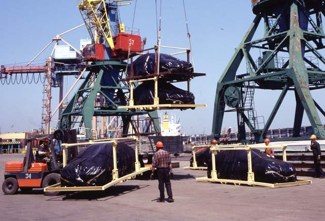 Forwarding of import, export, transit cargoes in Ukraine ports