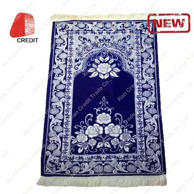 Muslim Prayer Rug with Economical Design for Praying