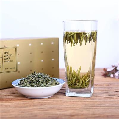Han Zhong Xian Hao Green Tea | Peng Xiang 100g Soft Carton Packaged Special Grade Silver Leaf Slimming Green Tea