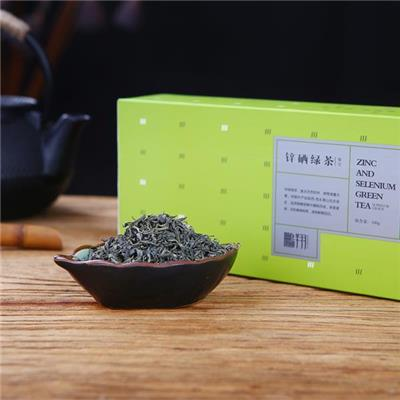 Green Tea | Peng Xiang 100g Carton Packaged Frist Grade Fried Zinc Riched Green Leaf Tea