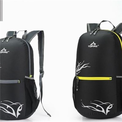Wholesale Gym Waterproof Teenager Fashion Simple Sports Backpacks Foldable Bags