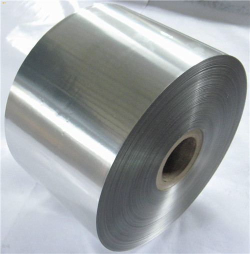 One side coated aluminum foil roll for caps seals closures