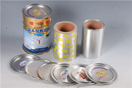 Milk powder can sealing tagger  container aluminum foil rolls