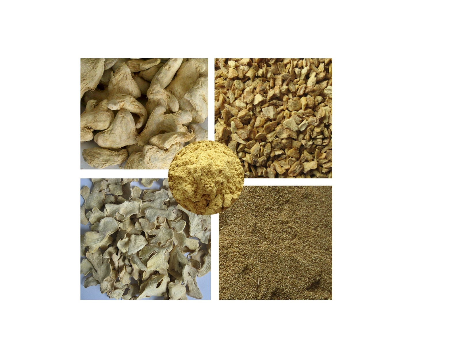 Chinese dried whole ginger/ AD/dehydrated ginger slice/granules/powder