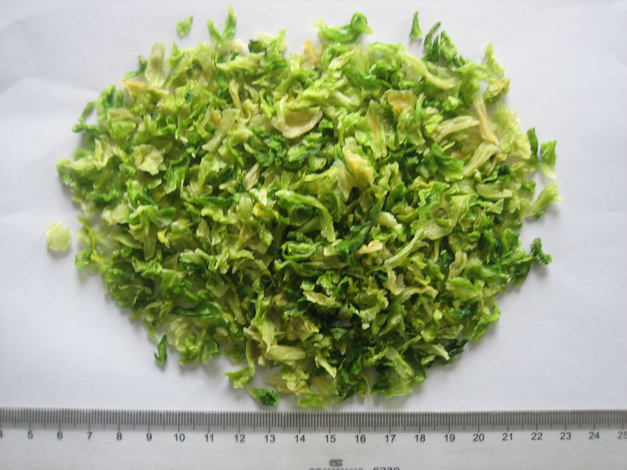 Chinese Dehydrated/AD/dried Cabbage flakes/slice