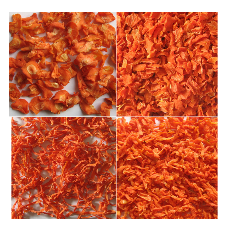Chinese AD/dehydrated/dried carrot cube/strips/flake/powder