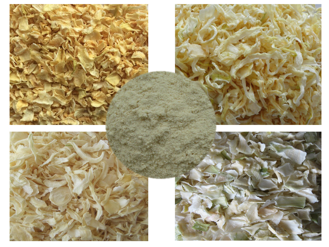 Chinese dehydrated/dried white/yellow onion slice/flake/powder/strips