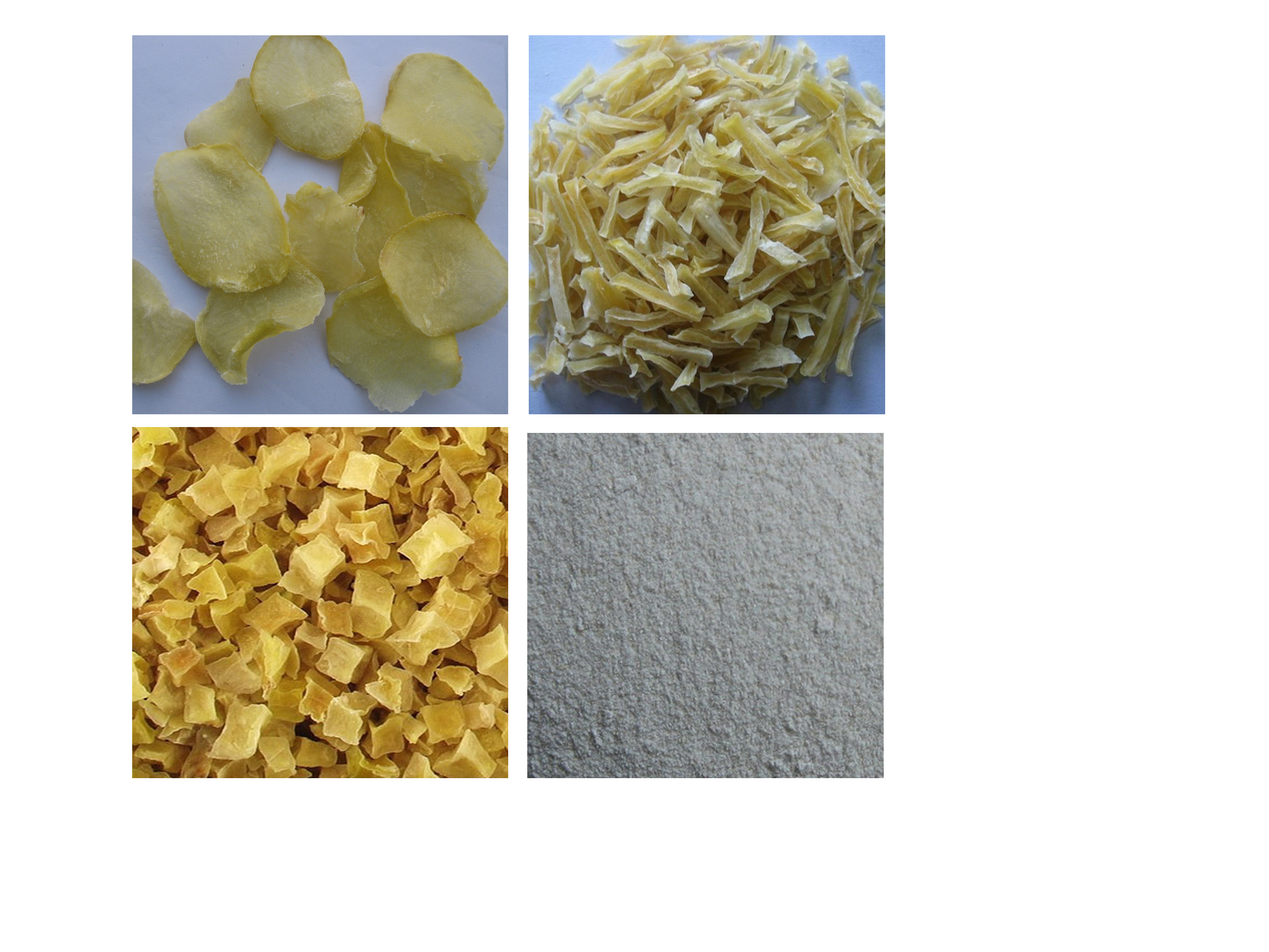 Chinese dried/AD/dehydrated potato strips/flakes/powder/cubes