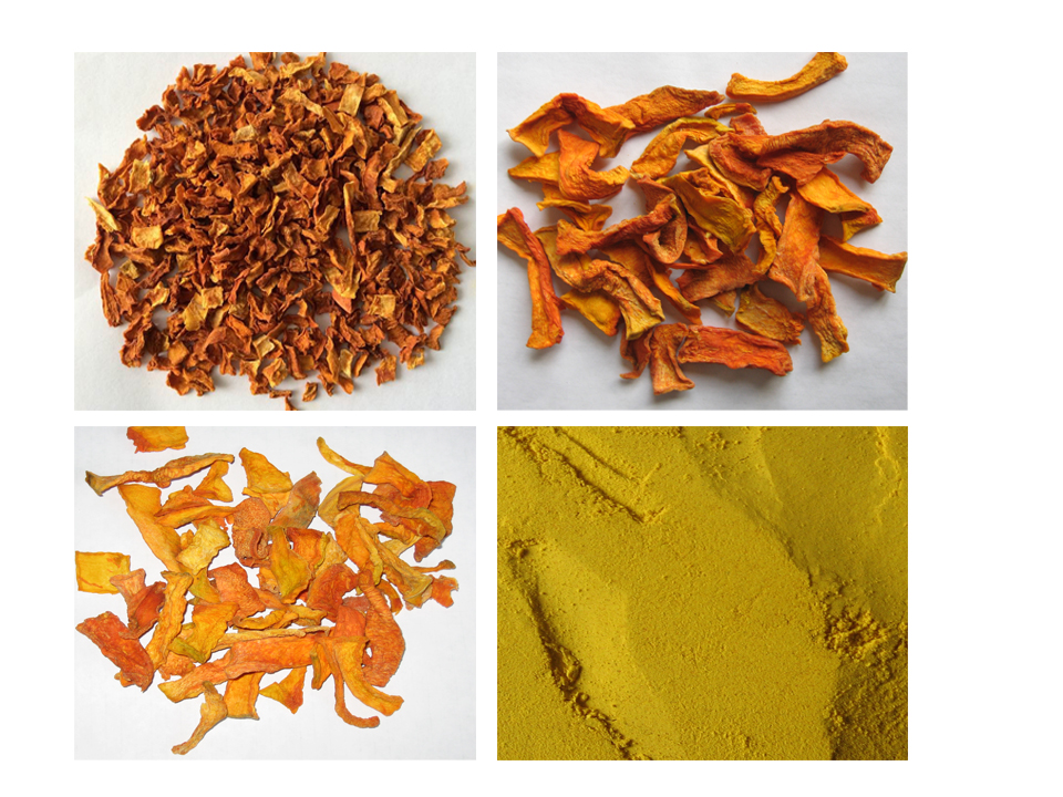 Chinese dehydrated/AD/Dried pumpkin flakes/strips/powder/chips