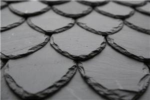 Petaling shape/ natural/ black antacid roofing slates