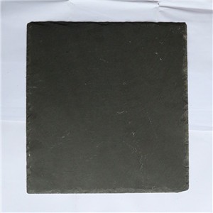 Black/ natural/ square floor slate tiles